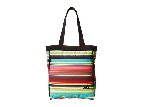 adidas - Studio Club Bag (Siete Stripe Multi/Black) Tote Handbags