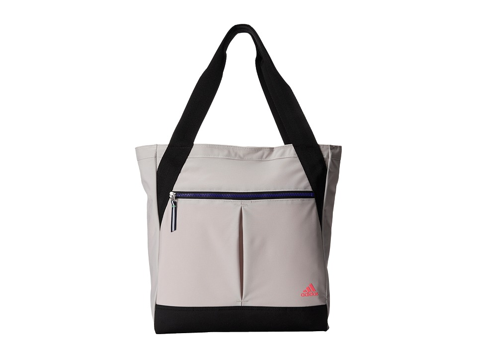 adidas - Fearless Tote (Pearl Grey/Black/Night Flash/Flash Red) Tote Handbags