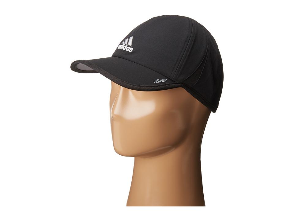 adidas - Adizero II Cap (Black/Aluminum 2) Caps