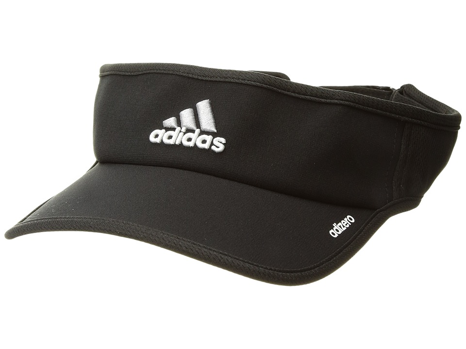 adidas - Adizero II Visor (Black/White) Casual Visor
