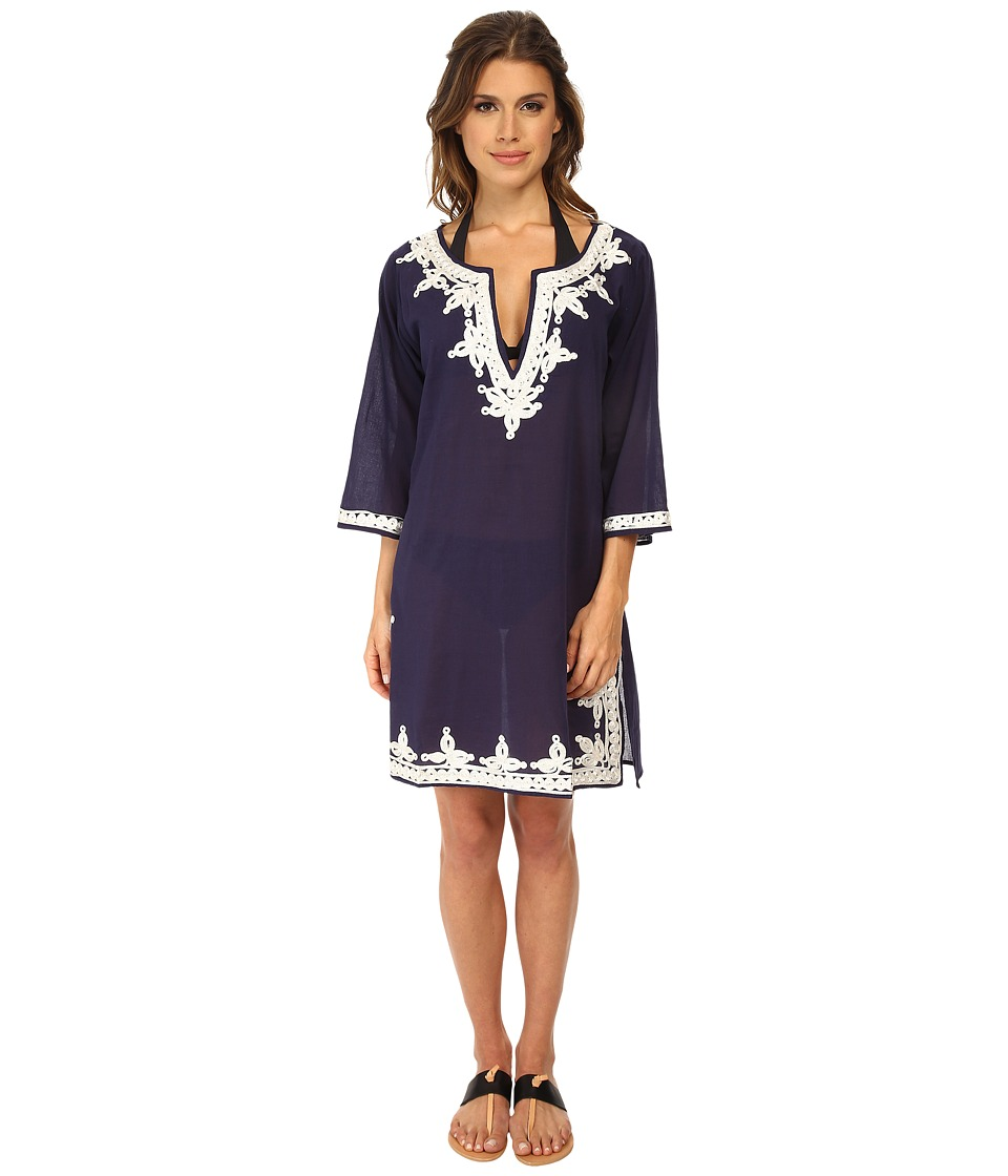 Miraclesuit - Tunic Cover-Up (Navy) Women