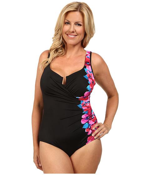 0164664a15c79 UPC 754509676524 product image for Miraclesuit - Plus Size Garland Escape  Swimsuit (Black) Women s ...