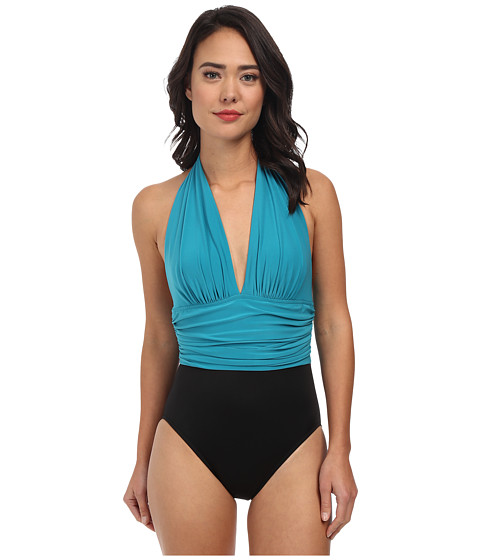 Magicsuit - Colorblock Solid Yves Swimsuit (Jade) Women