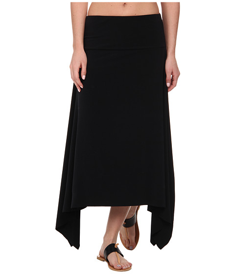 Magicsuit - Beyond The Beach Jersey Handkerchief Skirt/Dress Cover-Up (Black) Women's Skirt