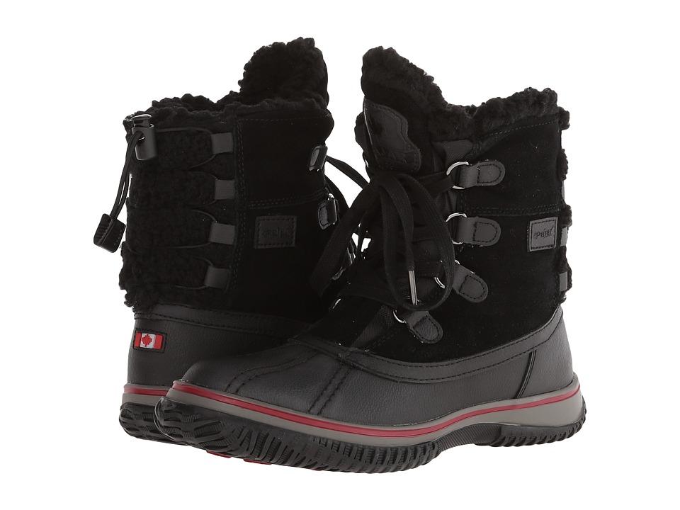 Pajar CANADA - Iceland (Black/Black/Black) Women's Boots