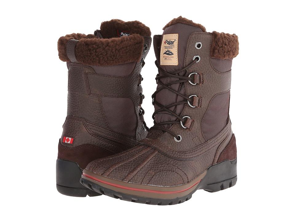 Pajar CANADA - Burman (Dk Brown/Dk Brown) Men's Boots