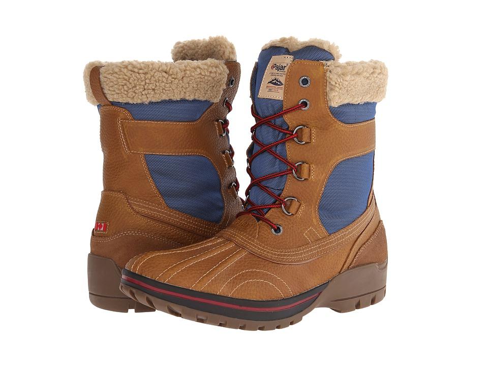 Pajar CANADA - Burman (Cognac/Navy) Men's Boots