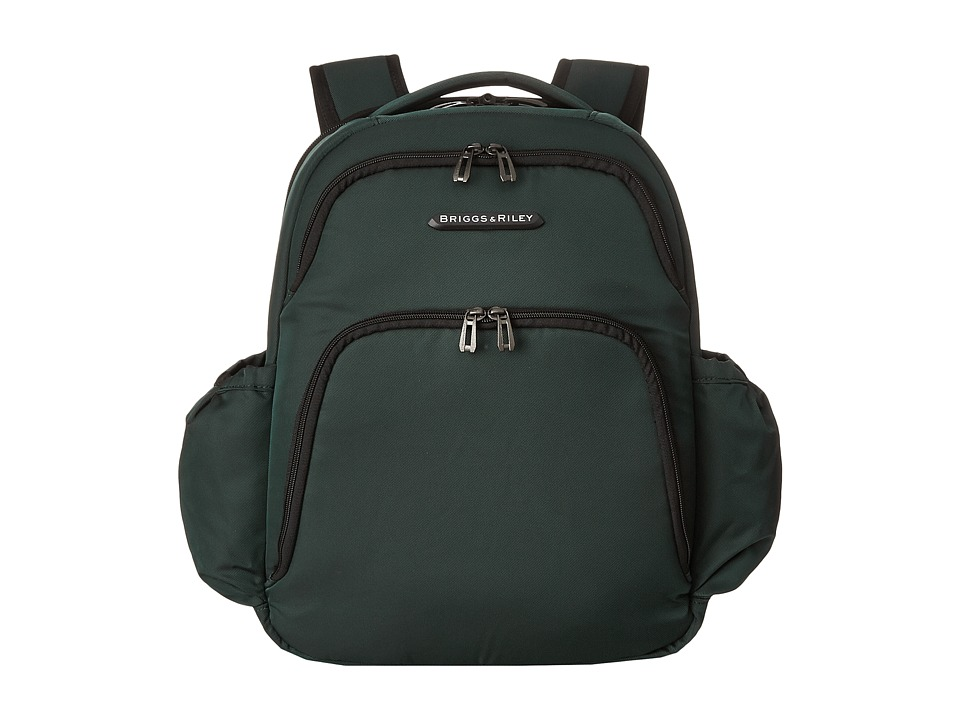 Briggs & Riley - Transcend Backpack (Hunter Green) Backpack Bags