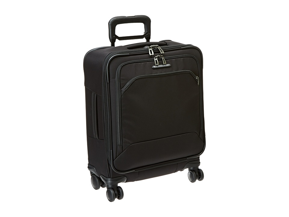 Briggs & Riley - Transcend International Carry-On Wide-Body Spinner (Black) Carry on Luggage