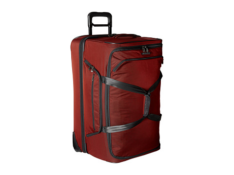 Briggs & Riley - Transcend Dual Compartment Large Wheeled Duffle (Crimson Red) Duffel Bags