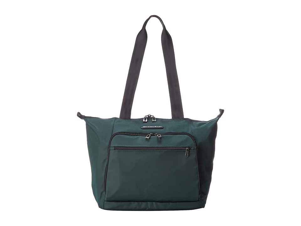 Briggs & Riley - Transcend Shopping Tote (Hunter Green) Tote Handbags