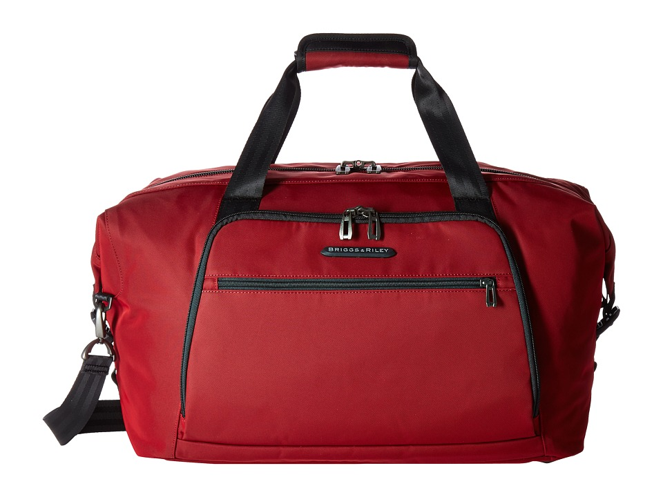 Briggs & Riley - Transcend Weekender (Crimson Red) Weekender/Overnight Luggage