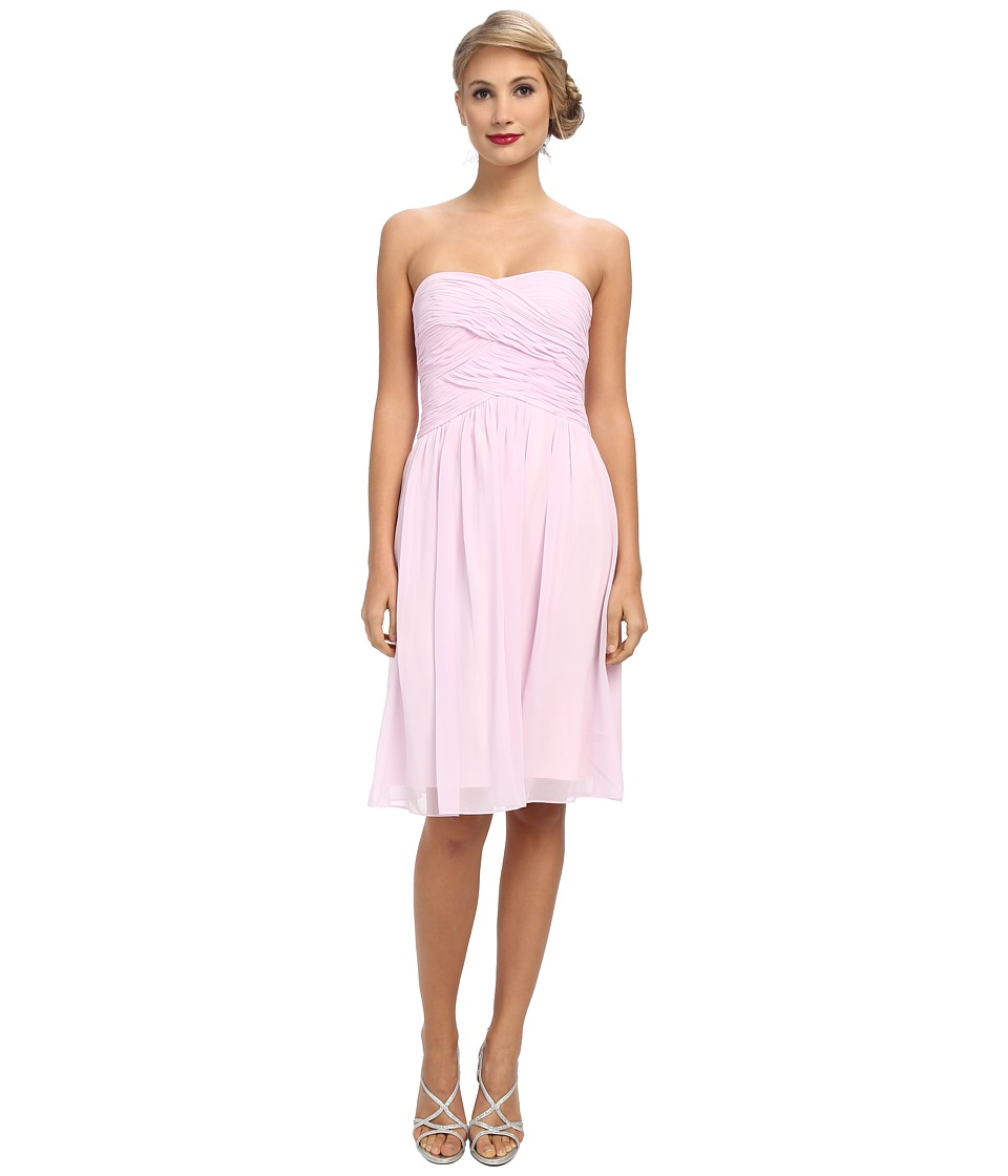 Donna Morgan - Anne Long Torso Chiffon (Petal) Women's Dress