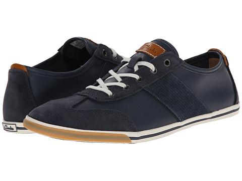 Clarks - Mego Walk (Dark Blue) Men's Shoes
