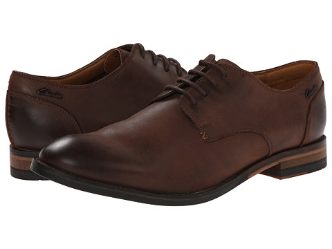 Clarks - Exton Walk (Dark Brown Leather) Men