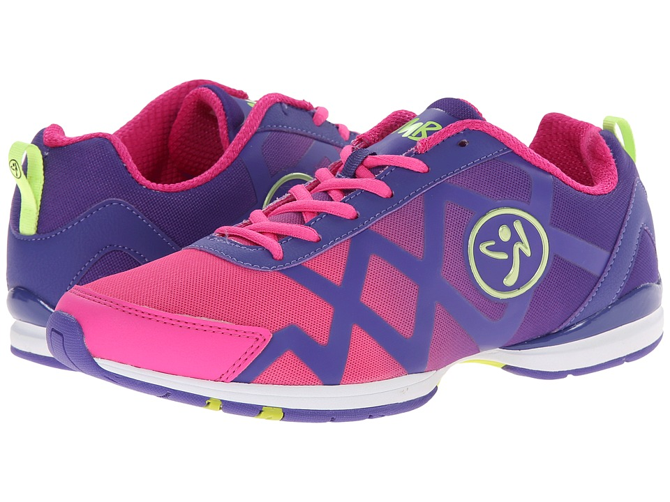 Zumba - Zumba Flex II Remix (Purple/Bright Pink) Women's Shoes