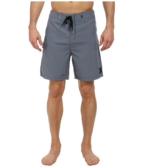 Hurley - One and Only 19 Boardshort (Blue/Graphite) Men's Swimwear