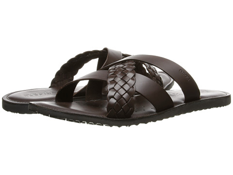 Geox - U Artie 4 (Brown) Men's Sandals
