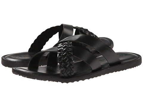 Geox - U Artie 4 (Black) Men's Sandals