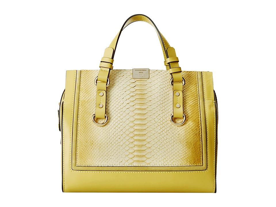 DSQUARED2 - Snake Print Tote (Giallo) Tote Handbags
