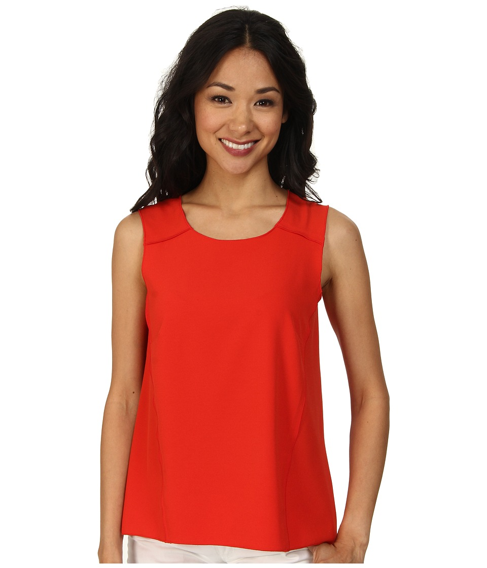 NIC+ZOE - Seamed Ease Top (Fire) Women's Sleeveless