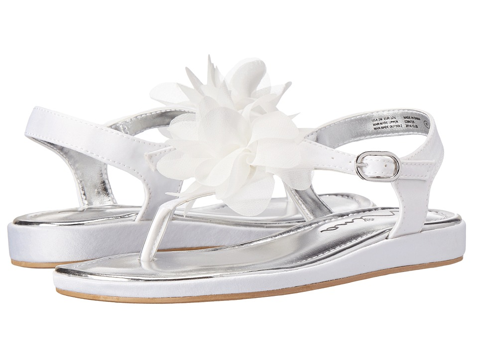 Nina Kids - Silky (Little Kid/Big Kid) (White Satin) Girls Shoes