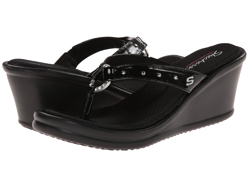 SKECHERS - Rumblers-Cats Eye (Black) Women's Sandals
