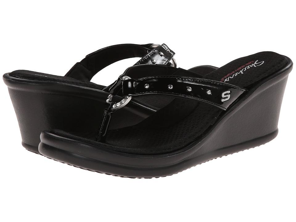 SKECHERS - Rumblers-Cats Eye (Black) Women's Sandals
