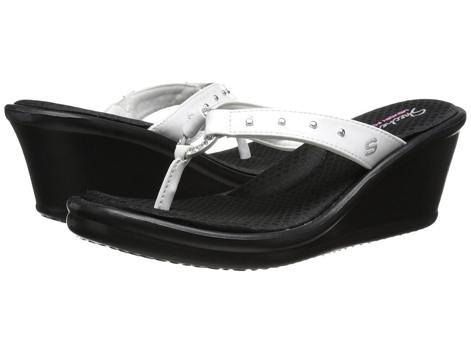 SKECHERS - Rumblers-Cats Eye (White) Women's Sandals