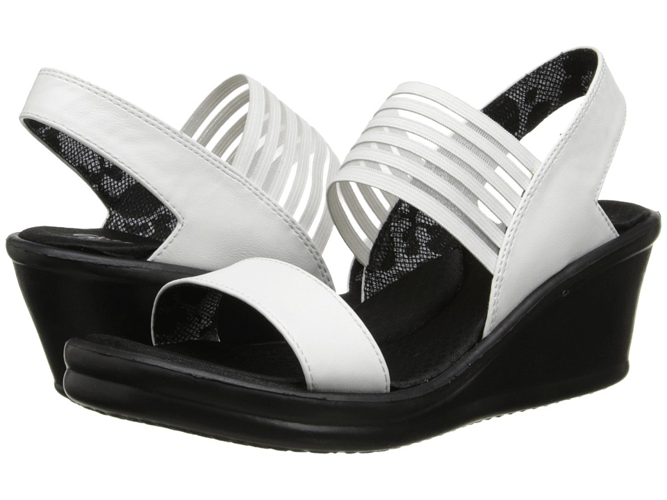 SKECHERS - Rumblers-Sci-Fi (White) Women's Sandals