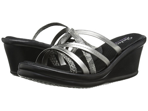 SKECHERS - Rumblers-Social Butterfly (Gunmetal) Women's Sandals