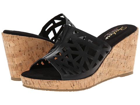 SKECHERS - Modiste-Cross (Black) Women's Sandals