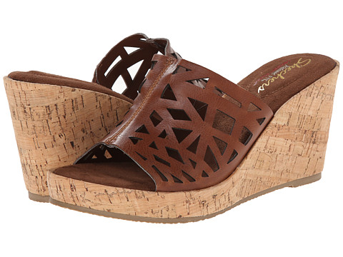 SKECHERS - Modiste-Cross (Brown) Women's Sandals