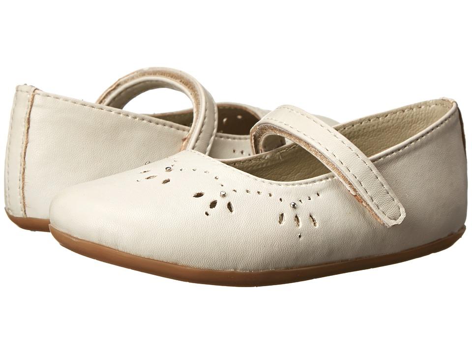Pazitos - Royal MJ PU (Toddler) (Feather Gray) Girls Shoes