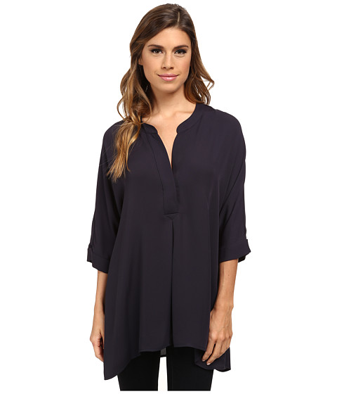 NIC+ZOE - Free Flow Top (Midnight) Women
