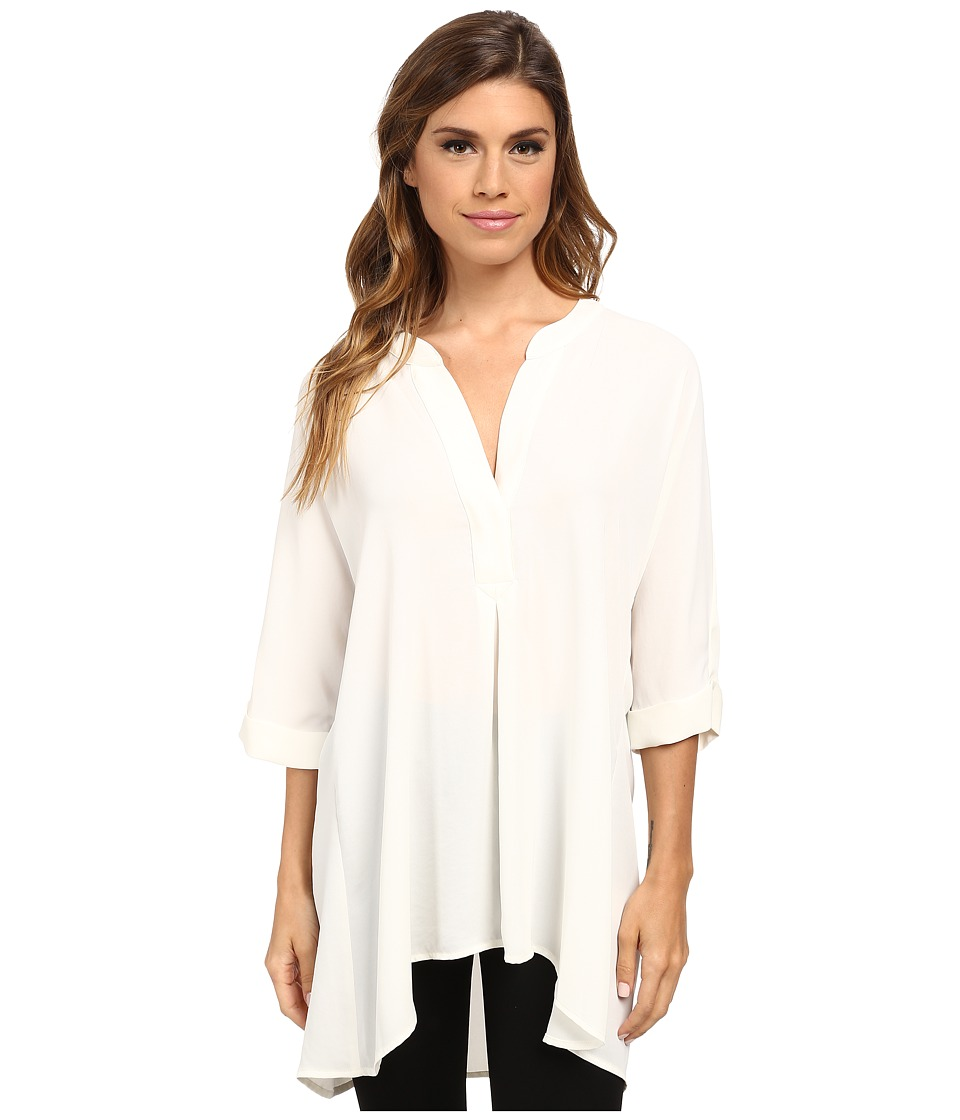 NIC+ZOE - Free Flow Top (Milk White) Women's Long Sleeve Pullover