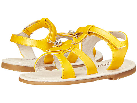 Pazitos - Pretty Me PU (Toddler/Little Kid) (Yellow) Girls Shoes