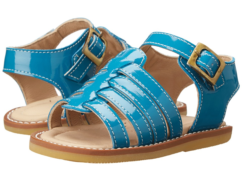 Elephantito - Nantucket Sandal (Toddler) (Turquoise) Girls Shoes