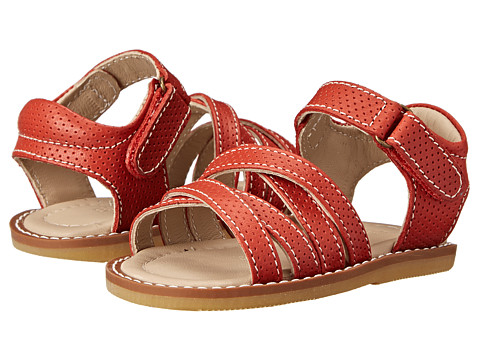 Elephantito - 2C Sandals (Toddler) (Red) Girl's Shoes