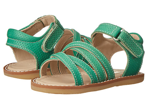Elephantito - 2C Sandals (Toddler) (Kelly Green) Girl