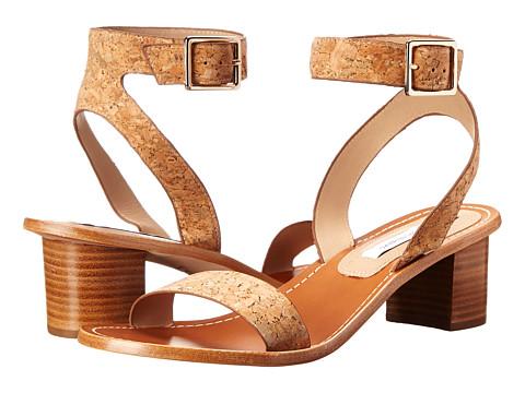 Diane von Furstenberg - Cami (Natural Cork) Women's Shoes