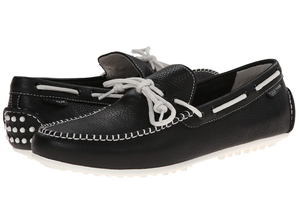 Cole Haan - Grant Escape (Black Leather/White) Men