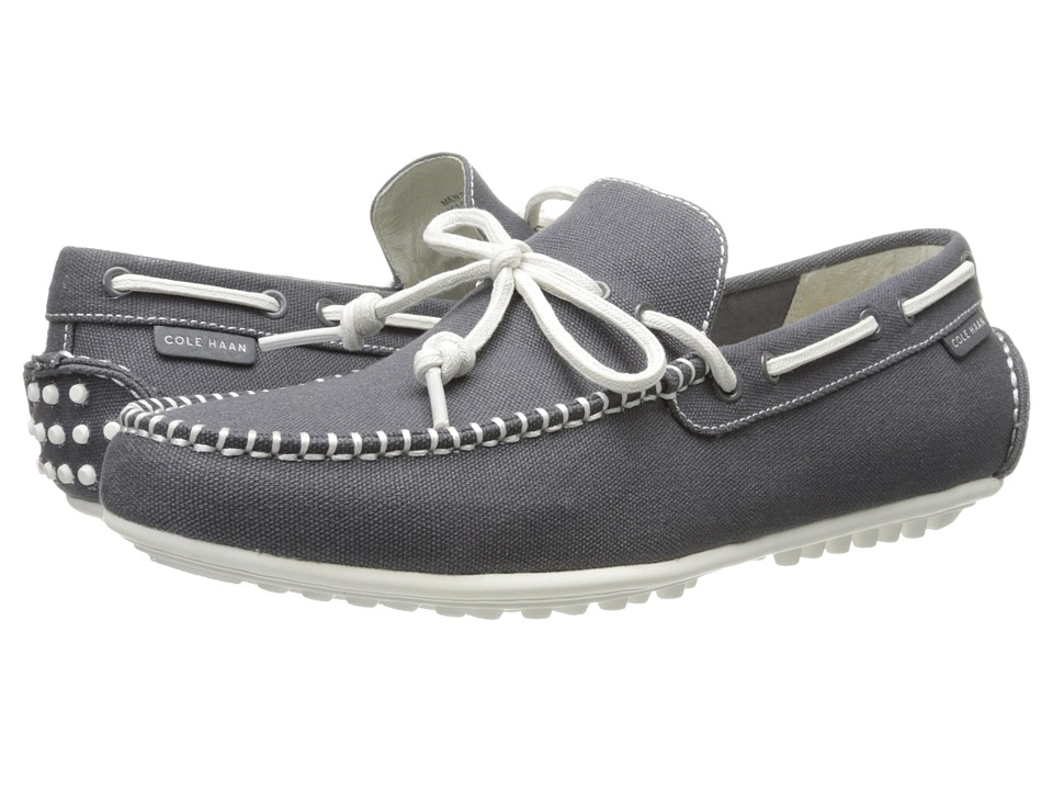 Cole Haan - Grant Escape (Grey Fabric/White) Men's Slip on Shoes