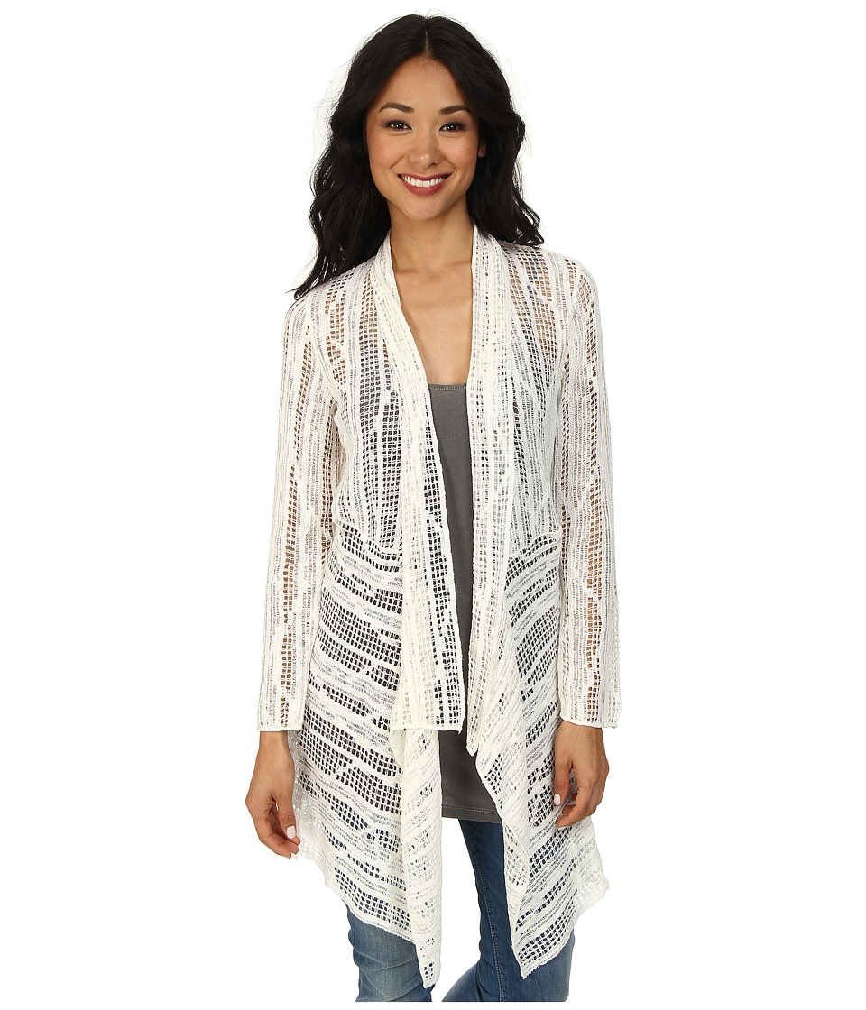NIC+ZOE - Whispering Winds Cardy (Milk White) Women