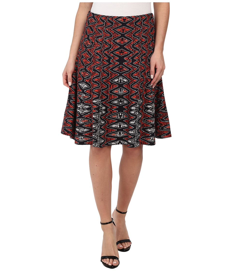NIC+ZOE - Tribal Twirl Skirt (Multi) Women's Skirt