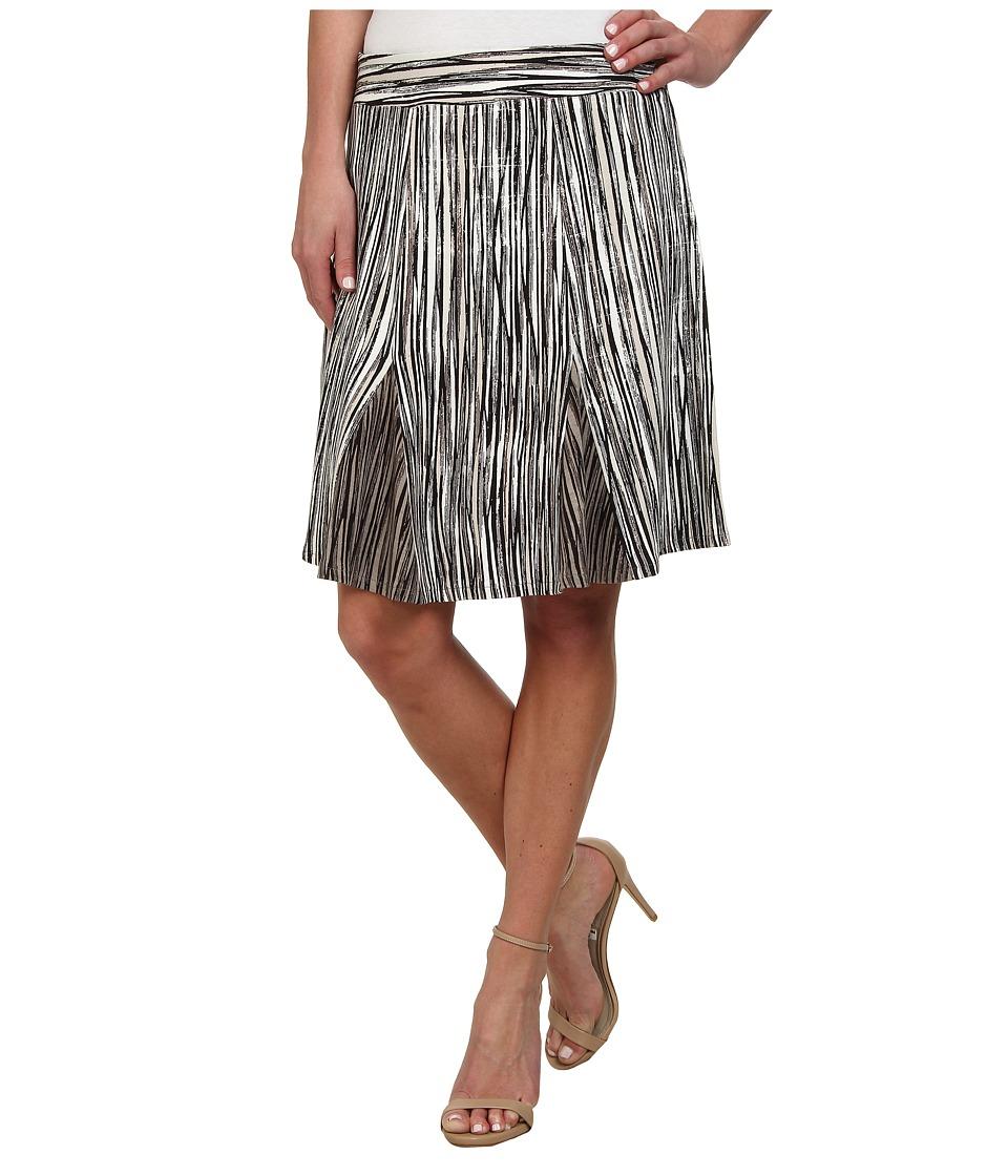 NIC+ZOE - Scattered Lines Skirt (Multi) Women's Skirt