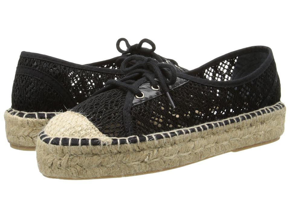 Diane von Furstenberg - Tareena (Black Salema Fabric) Women's Lace up casual Shoes