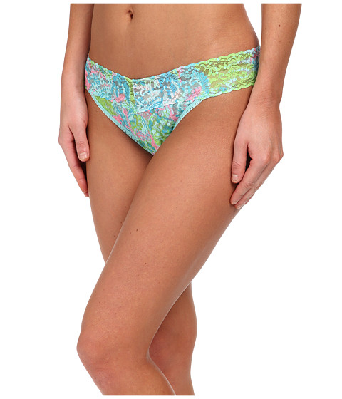 Hanky Panky - Loves Lilly Pulitzer Checking In Original Thong (Checking In) Women's Underwear
