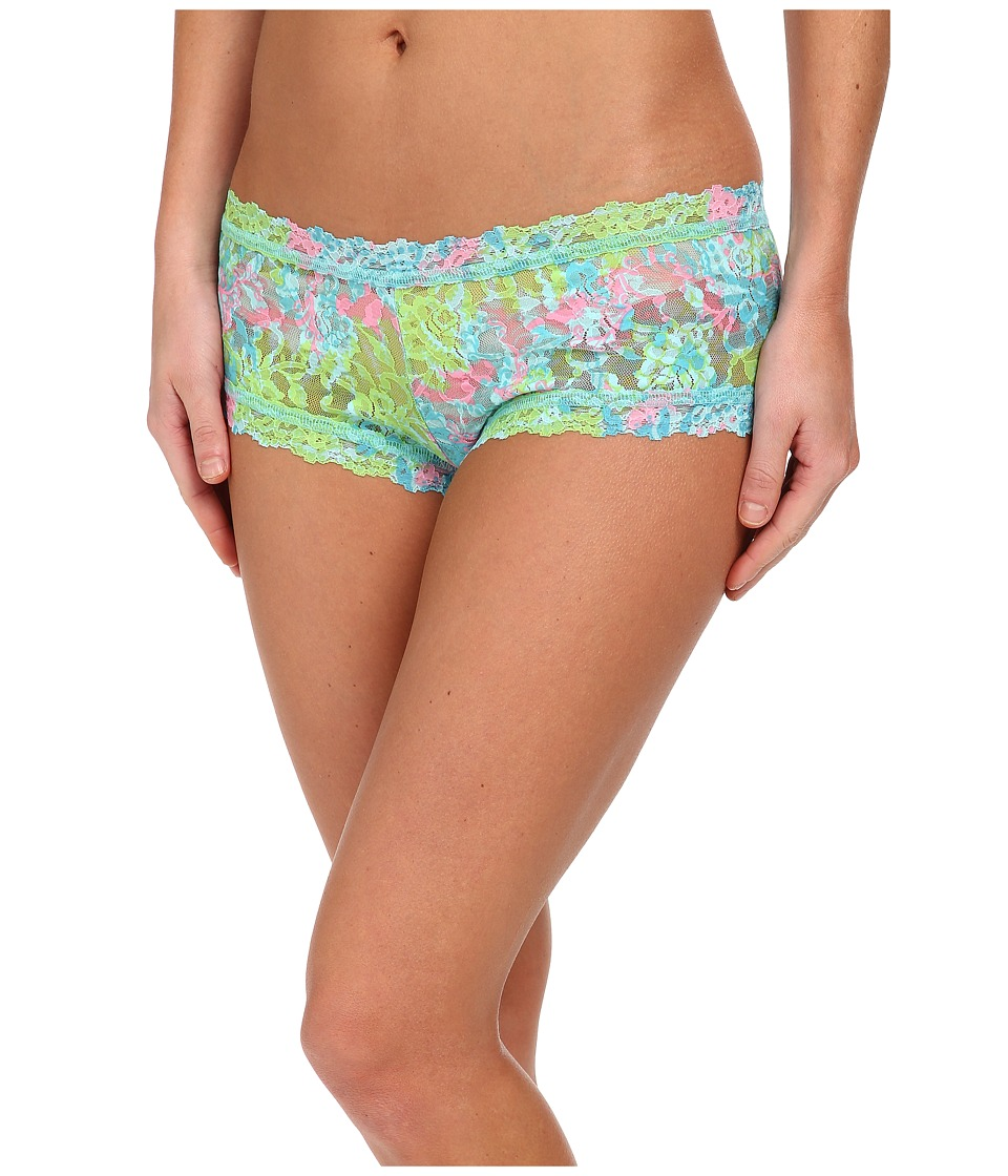 Hanky Panky - Loves Lilly Pulitzer Checking In Boyshort (Checking In) Women's Underwear