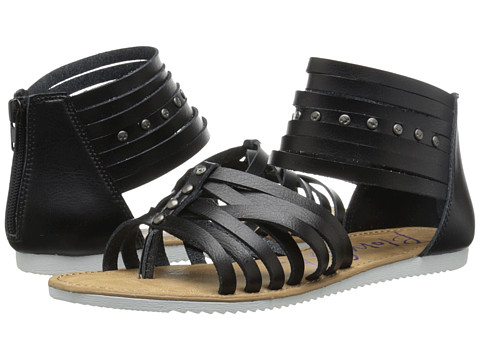 Blowfish - Edward (Black Pisa Pu) Women's Sandals
